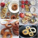 Vyprážané jablkové krúžky so škoricou. Jednoduchý achutný dezert, ktorý si zamilujete!