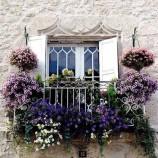 Úžasné balkónové záhrady