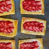 Fotopostup: Jahodové koláčiky z 5 ingrediencií