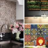 24 skvelých nápadov na dekoráciu kuchynskej steny
