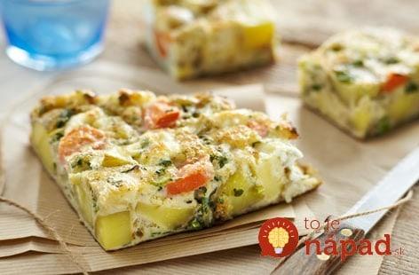 Rýchla zeleninová tortilla