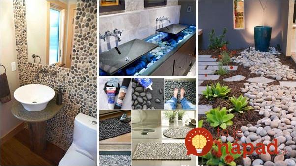 Toto dokážu obyčajné kamene: 28 úžasných nápadov do domu, ktoré vytvoríte len pomocou kameňov!