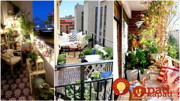 25 malých balkónov, ktoré ich majitelia premenili na malý kúsok raja