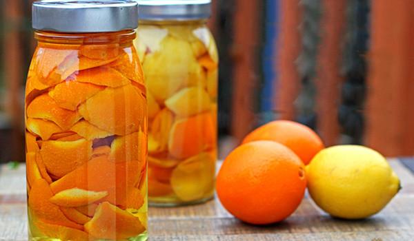 Domáci citrusový čistič
