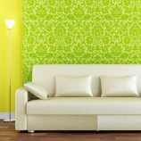 Zelená osvieži interiér avnesie doň energiu prírody