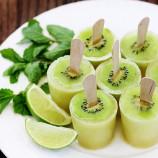 Svieže mojito-kiwi nanuky