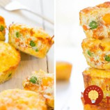 Slané fitness muffiny bez múky