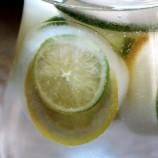 Citrónovo-limetkové ľadové kocky