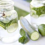 Uhorková limonáda očistí telo a priniesie krásu z prírody