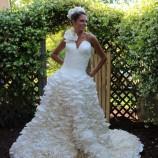 10 svadobných šiat vyrobených z toaletného papiera