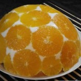 Svieža pomarančová torta