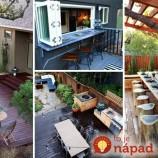 25 nápadov na vonkajšie stolovanie, ktoré si zamilujete!