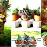 """16 úžasných """"urob si sám"""" kvetináčov, ktoré prinesú život do vášho domova"""