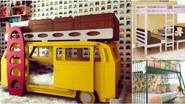 15 poschodových postelí, pre ktoré budete chcieť byť opäť dieťaťom!