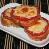 Fotopostup: Francúzsky toast s paradajkami a syrom