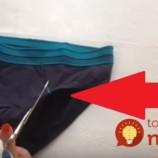 Video: Ako premeniť pánske slipy na pohodlnú športovú podprsenku?