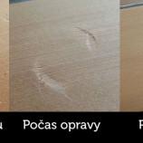 Jednoduchý trik, ako odstrániť preliačiny a jamky z dreveného nábytku!