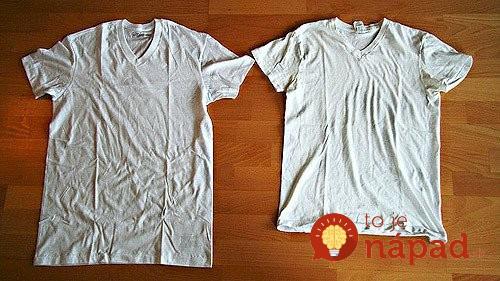 Zrazilo sa vám oblečenie? Tento jednoduchý trik mu vráti pôvodnú veľkosť a tvar!