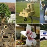 25 najbláznivejších poštových schránok, aké ste kedy videli!
