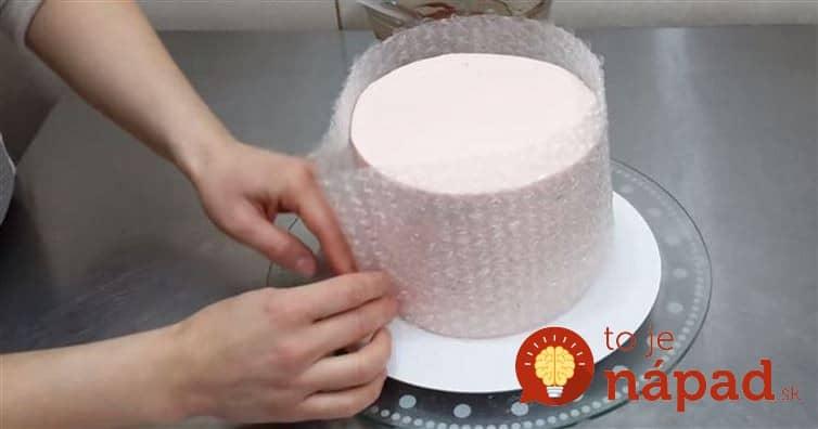 Video Ako Ozdobiť Tortu Pomocou Bublinkovej F 243 Lie