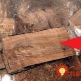 Muž vytvoril úžasnú 3D podlahu z palivového dreva!
