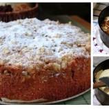 Rýchly jablkovo-smotanový koláč