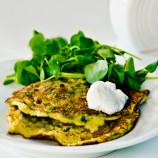 Brokolicové lievance so syrom a cesnakom