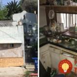 Rozpadnutý dom slúžil celé roky ako skládka odpadov. Neuveríte, ako vyzerá dnes!