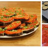 Fotopostup: Baklažánovo – syrové mini pizze