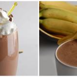 Banánovo – čokoládové smoothie