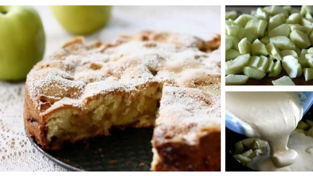 Fotopostup: Jablkový koláč zo 4 ingrediencií