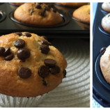 Čokoládovo – jogurtové muffiny