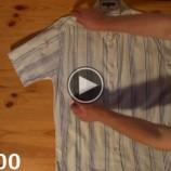 Video: Ako poskladať košeľu za menej ako 2 sekundy?