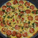 Bez kysnutého cesta: Sedliacka pizza s klobásou a syrom!