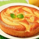 Ľahký tvarohovo – krupicový koláčik