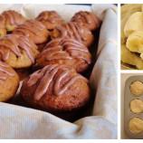 Vláčne banánové muffiny