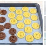 """Jemné maslové sušienky: """"Gombíky"""""""