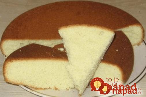 Najjednoduchšie cesto na torty, koláče a zákusky!