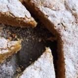 Jablkovo – škoricový koláč sovsenými vločkami