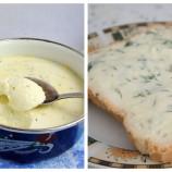 Domáci tavený syr s bylinkami