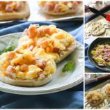 Raňajkové mini pizze z pečiva
