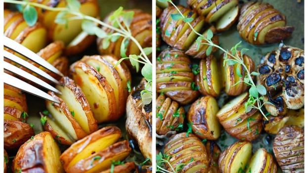 Pečené zemiaky na provensálský spôsob
