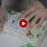 Ako perfektne zabaliť darček za 30 sekúnd?