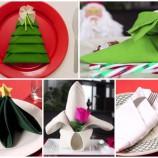 11 krásnych nápadov, ako poskladať obrúsky na slávnostný stôl