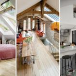 23 nápadov, ako premeniť nevyužité podkrovie na nádherný obytný priestor