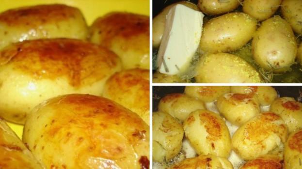 Nezvyčajné zemiaky v šupke
