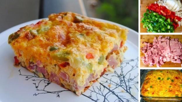 Expresná večera pre celú rodinu: Pečená omeleta