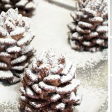 Zasnežené čokoládové šišky na vianočný stôl!