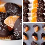 Zdravý a hrvý dezert: Mandarinky v čokoláde