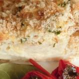 Chrumkavý karfiol pečený v smotanovo-syrovom kabátiku